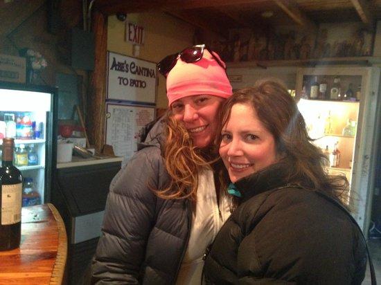 Austing Haus B&B: Apres ski...