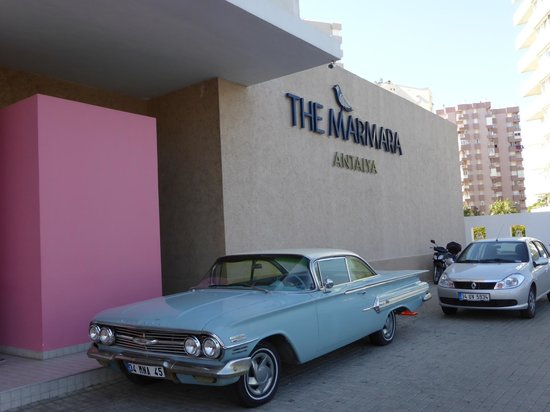 The Marmara Antalya: Hotel front