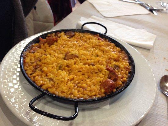 Restaurant Hostal la Catalana : Arroz de montaña