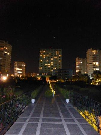 The Marmara Antalya : view of hotel from back garden
