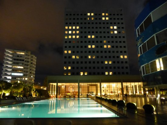 The Marmara Antalya : Hotel view from back garden