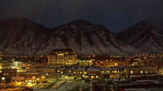 Provo Marriott Hotel & Conference Center: View from 8th floor room (not a postcard - I promise)