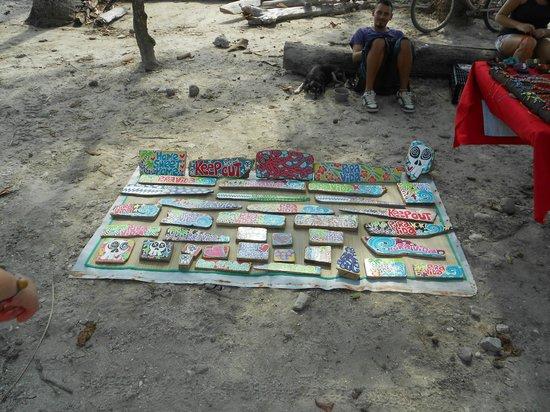 Playa Santa Teresa: VENDORS