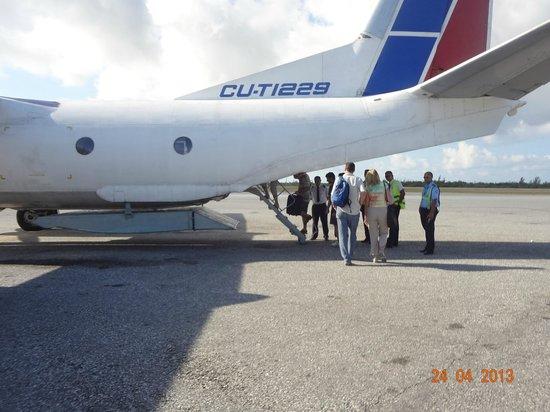 Hotel Pelicano: avião