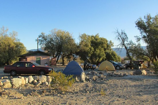 Panamint Springs Resort: Panamint Springs Campground, sites 18-20