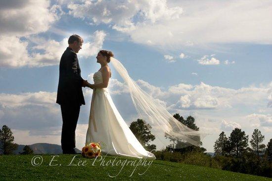 Echo Basin Ranch: Wedding Portrait