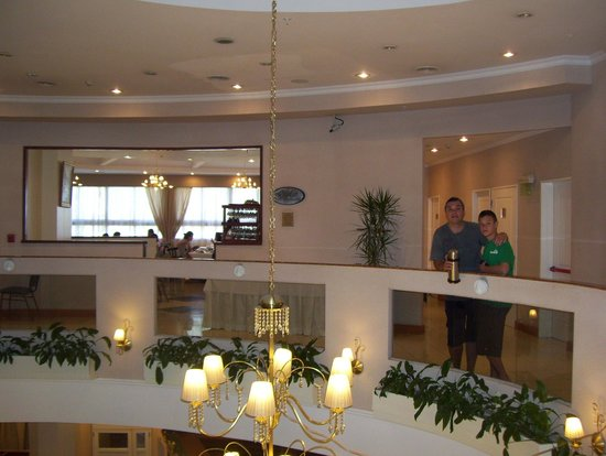 InterTower Hotel : salida del comedor