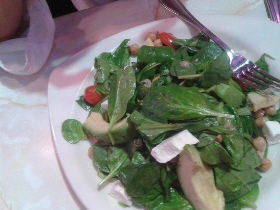 Ellen's Stardust Diner : Ensalada