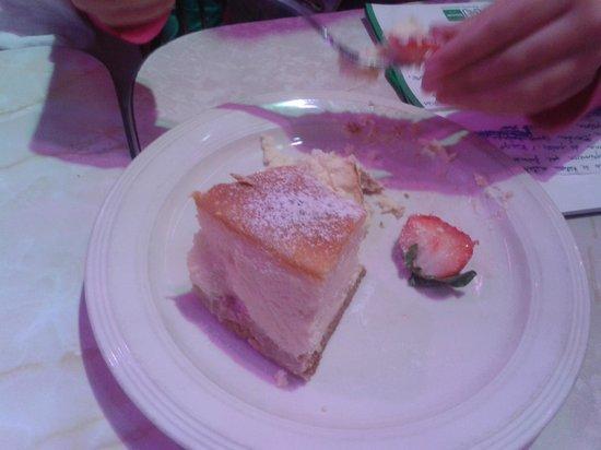 Ellen's Stardust Diner : Pastel de queso