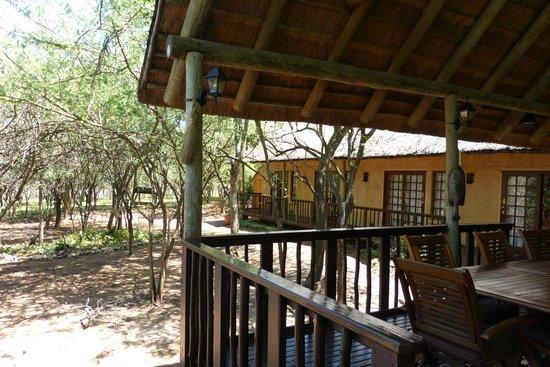 Needles Lodge : Außenbereich