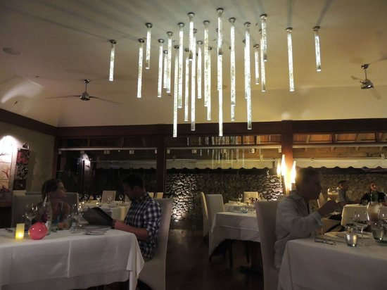 La Villa des Sens : Restaurante