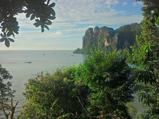 Railay Garden View Resort : view from breakfast area