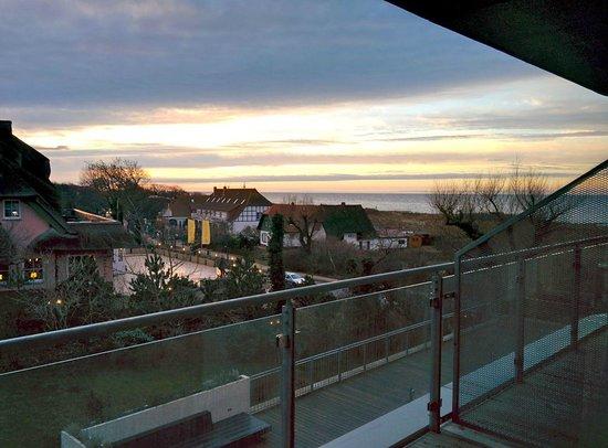 The Grand Ahrenshoop: Blick aus dem Zimmer 108