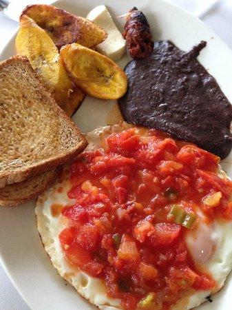 La Casa De Don David: breakfast