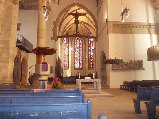 Collegiate Church of the Holy Cross (Stiftskirche): stiftskirche - interno