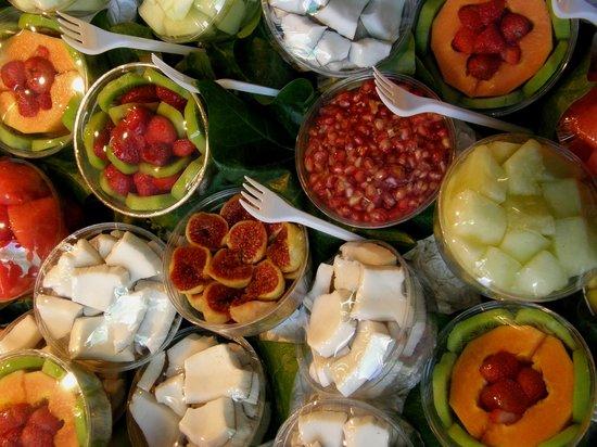 St. Josep La Boqueria : Fruta pronta a comer. Uma delicia!