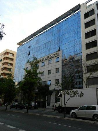 Silken Puerta Valencia: esterno dell'hotel