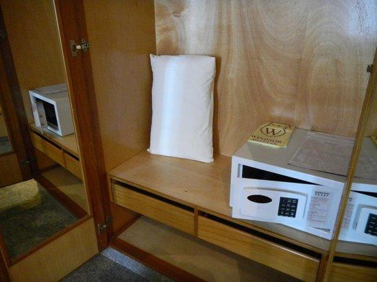 Windsor Astúrias Hotel: Safebox