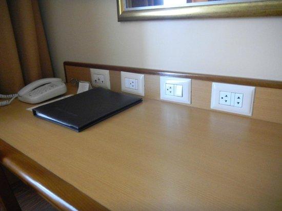 Windsor Astúrias Hotel: Workdesk