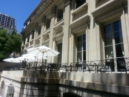 Palacio Duhau - Park Hyatt Buenos Aires: vista de la terraza