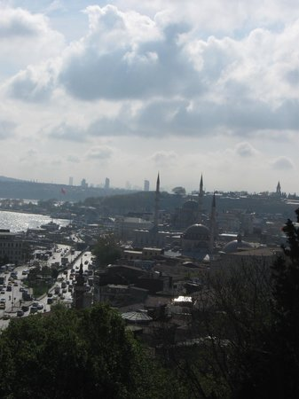 Golden Horn Guesthouse: View from the Balcony