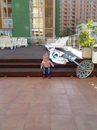 MedPlaya Hotel Regente : sunbathing area