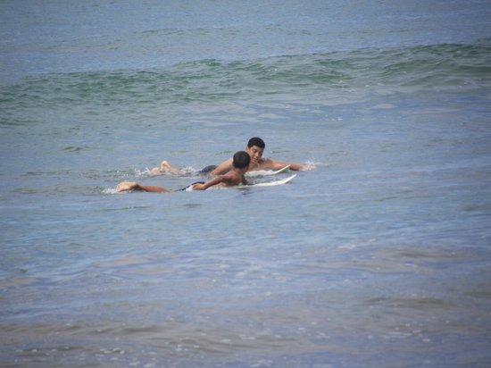 Puerto Viejo Beach : BEGINNER SURFERS