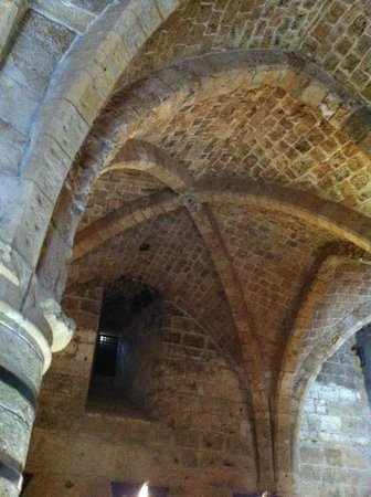 Crusader Fortress: Ceiling in fort