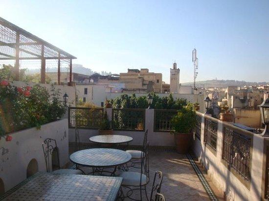 Riad Andalib: panorama dalla terrazza