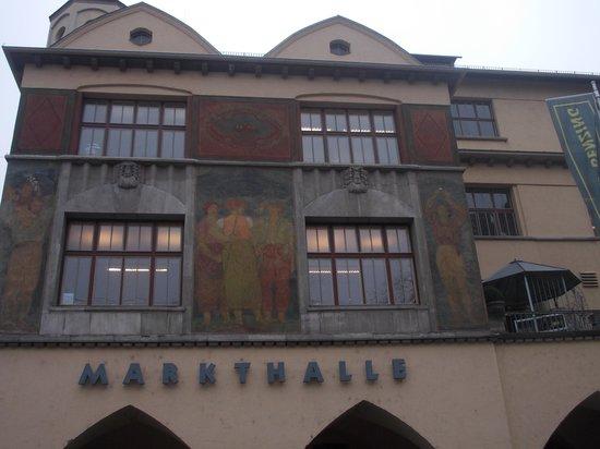 markthalle - esterno - facciata