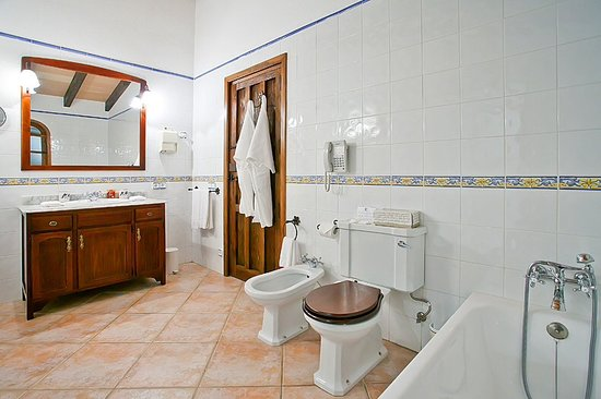Can Furios Hotel : Bathroom