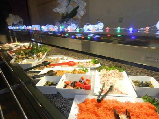Kyriad À Disneyland Paris : Dinne buffet
