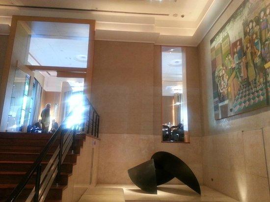 Palacio Duhau - Park Hyatt Buenos Aires: acceso al comedor