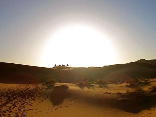 Morocco Desert Adventures: Sunrise in the desert