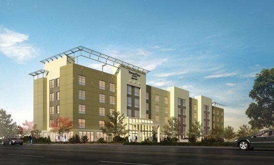 TownePlace Suites San Jose Santa Clara: Opening February 2014