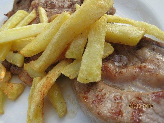 Cantina de Guadalupe: Chuleta con Patatas