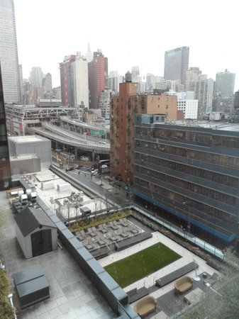 YOTEL New York at Times Square West : View from room 1120