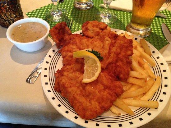Alpine Restaurant: Schnitzel