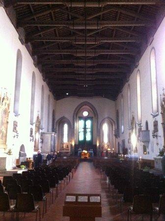 Chiesa di San Francesco : San Francesco a Prato, Interno
