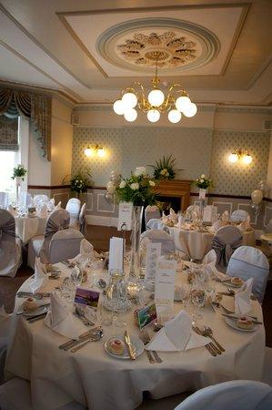Giltar Hotel: Room set up for Reception.