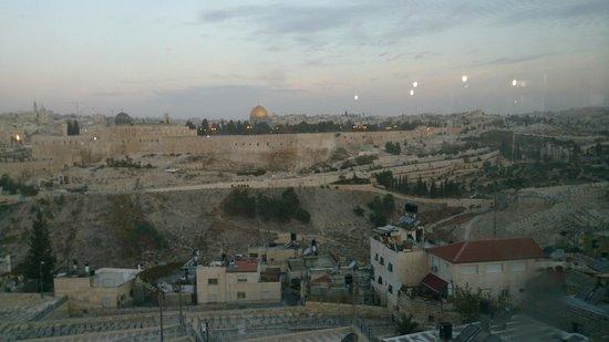 Jerusalem Panorama Hotel: vue de la chambre 412 (ou 512)