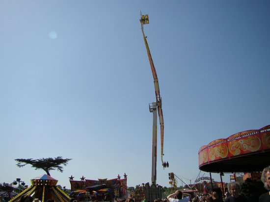 Watford, UK: Fun fair in the park