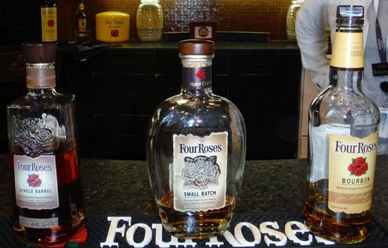 Four Roses: The Three Bourbons for Tasting