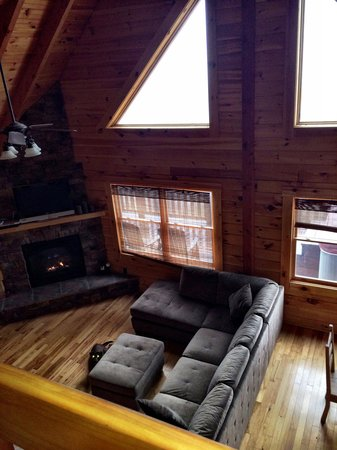 Rustic Cabins: Starlit View from loft