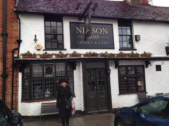 Beautiful entrance to Nelson Arms