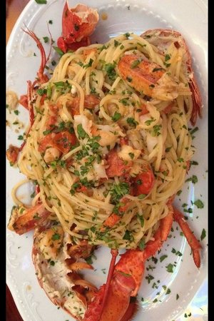 Santino Group Italian Restaurant: Pasta with lobster
