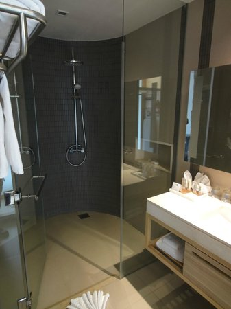 Holiday Inn Phuket Mai Khao Beach Resort : Shower (no bath)