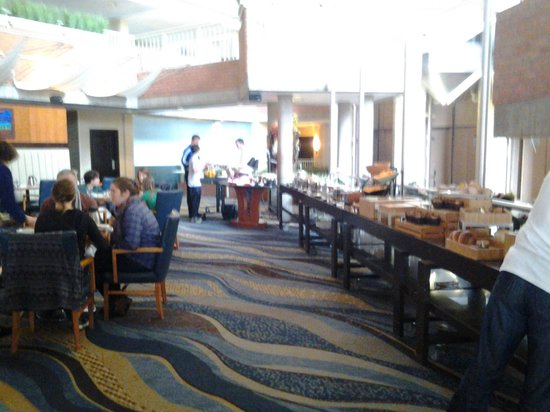 Hyatt Regency Cambridge, Overlooking Boston : Breakfast buffet