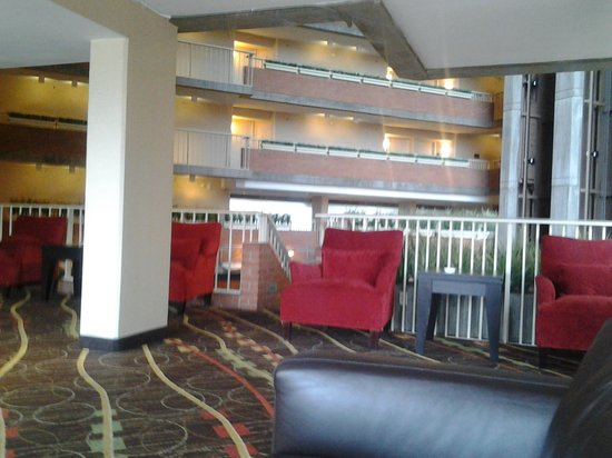 Hyatt Regency Cambridge, Overlooking Boston : One of the places to lounge