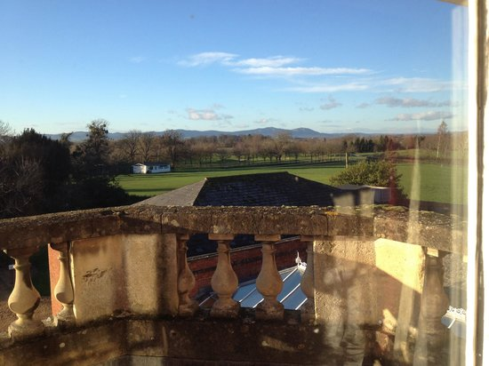 Hilton Puckrup Hall, Tewkesbury: View from our window